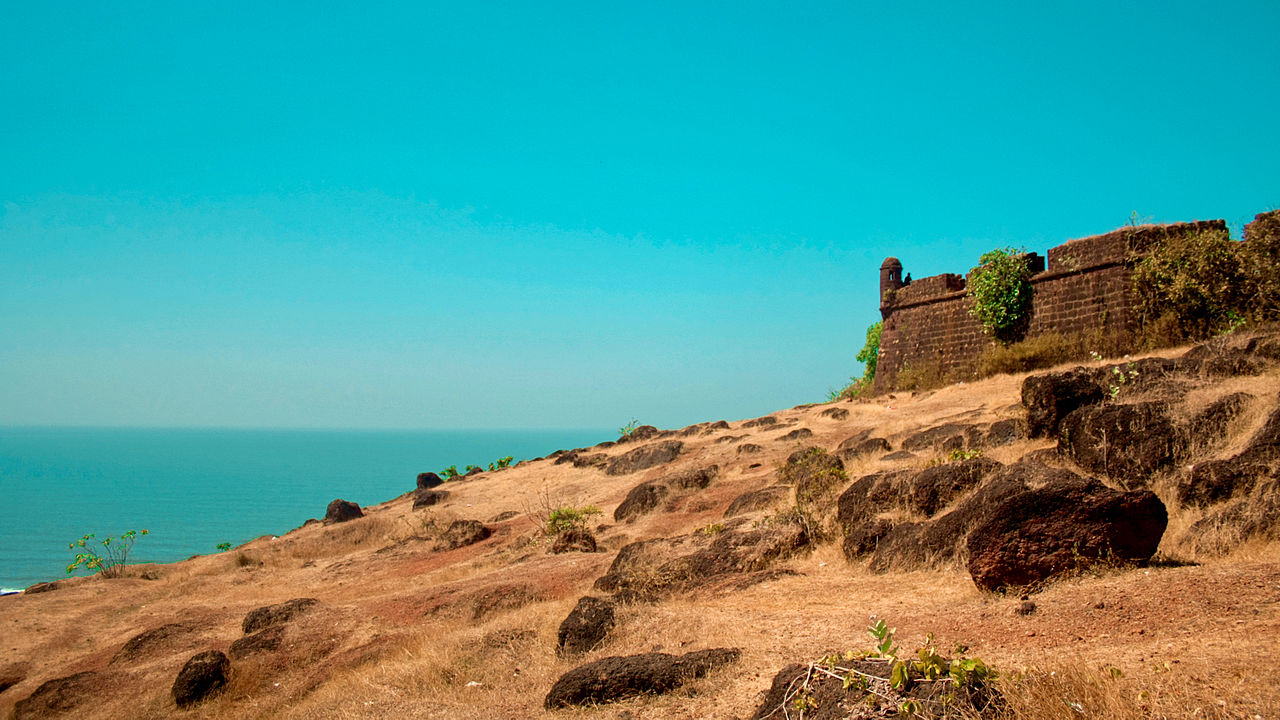 Fixer in Goa - Chapora Fort