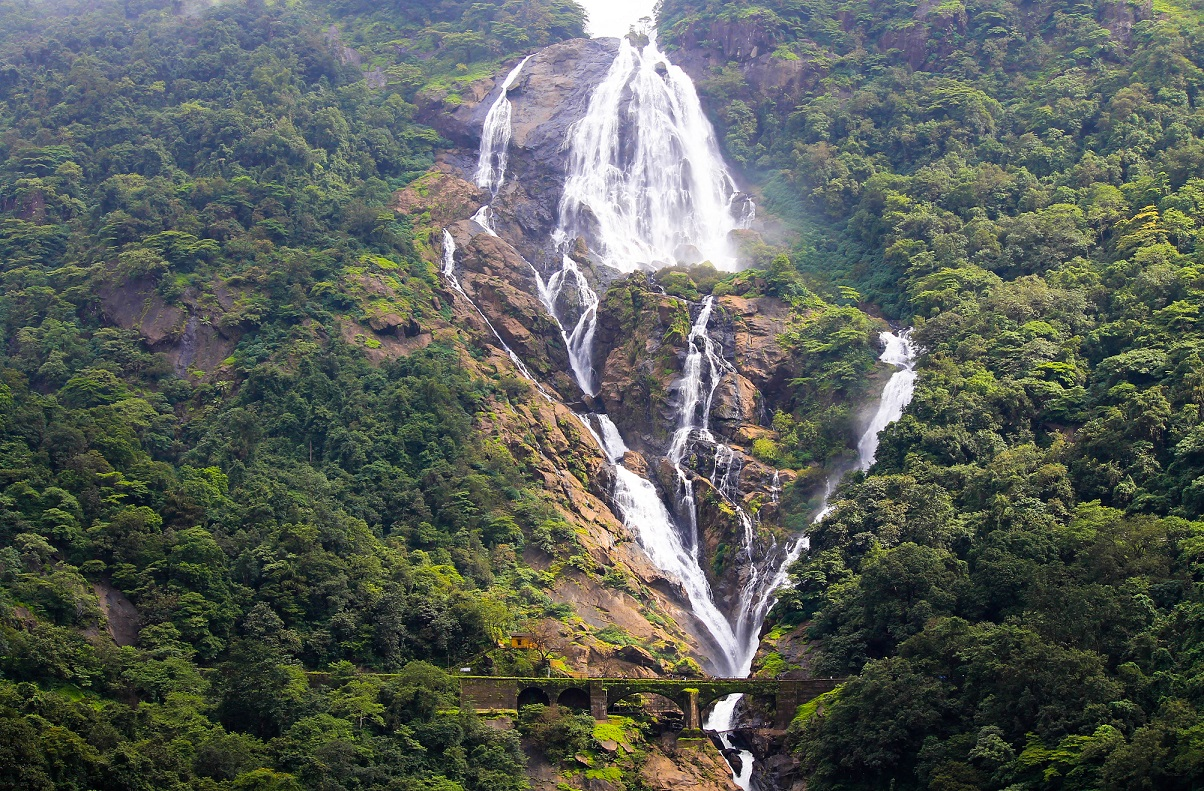 Fixer in Goa - Dudhsagar Waterfalls - filming in Goa